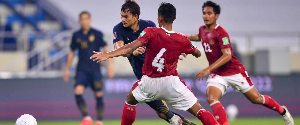 ทีมชาติไทย เสมอ อินโดนีเซีย 2-2 คัดบอลโลกนัดที่ 6 กลุ่มจี