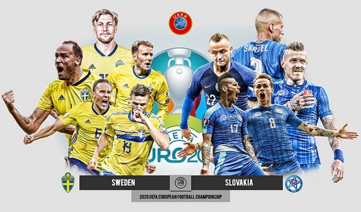 วิเคราะห์ผลการแข่งขัน สวีเดน VS สโลวะเกีย วันที่ 18 มิ.ย.2021 วิเคราะห์ผลการแข่งขัน