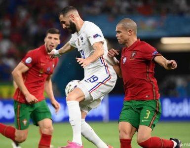 """""""ฝรั่งเศส""""เจ๊าโปรตุเกส2-2กอดคอลิ่ว16ทีมยูโร ยูโร 2020"""