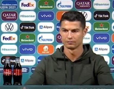 UEFA วอนนักเตะอย่านำสินค้าสปอนเซอร์ออกจากโต๊ะแถลงข่าวยูโร 2020