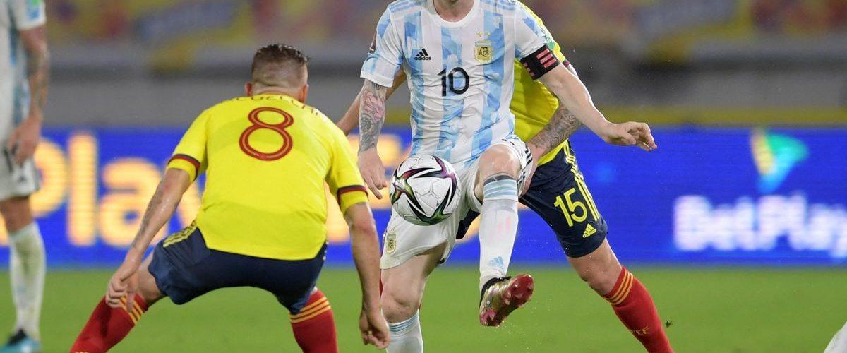 อาร์เจนเศร้าโดนโคลอมเบีย ตีเจ๊าทดเจ็บ 2-2 ทีมชาติ