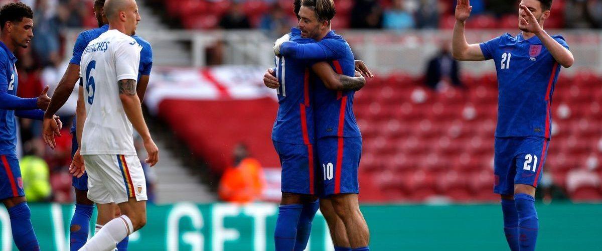ไฮไลท์ ฟุตบอลกระชับมิตร : อังกฤษ 1-0 โรมาเนีย ยูโร 2020