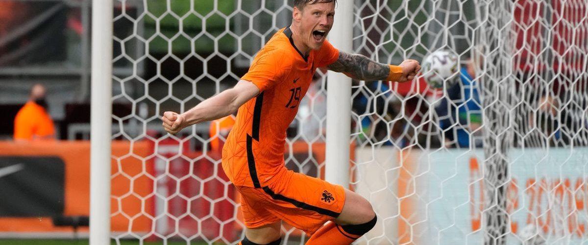 """""""ฮอลแลนด์""""ได้เฮอุ่นแข้งไล่ต้อนจอร์เจีย3-0"""