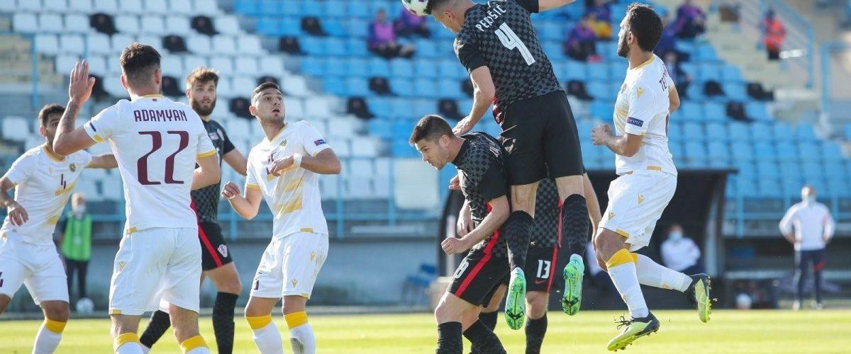 ไฮไลท์ ฟุตบอล กระชับมิตร : โครเอเชีย 1-1 อาร์เมเนีย