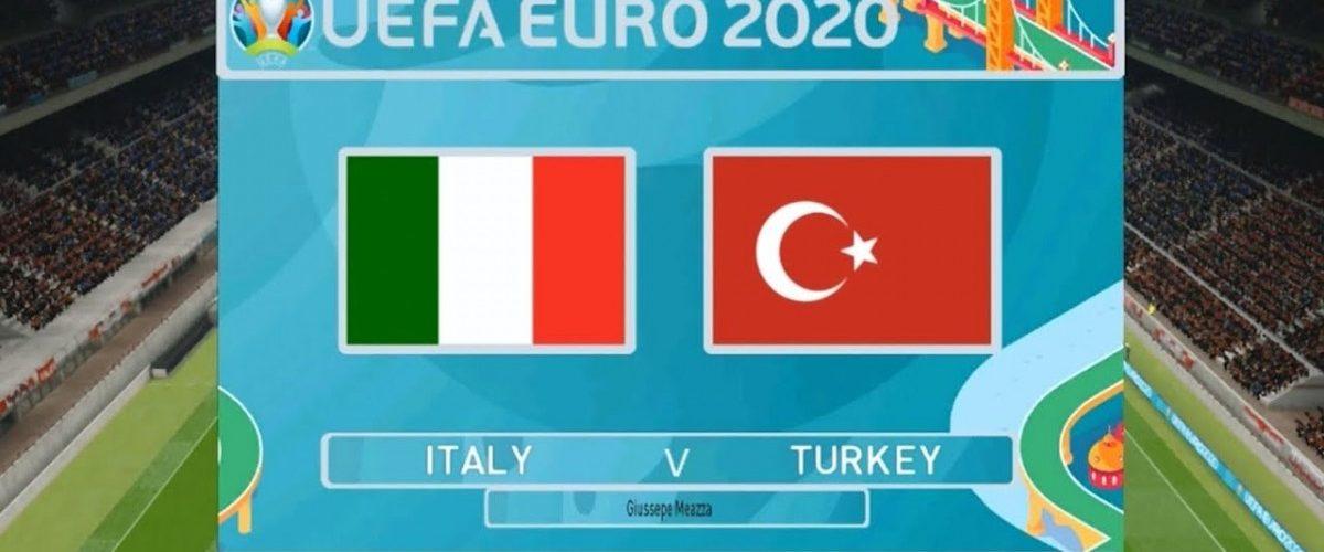 วิเคราะห์ผลการแข่งขัน ตุรกี VS อิตาลี วันที่ 11 มิ.ย.2021
