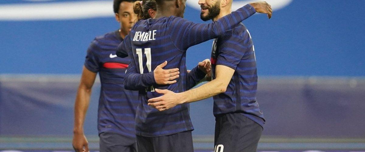 ไฮไลท์ ฟุตบอลกระชับมิตร : ฝรั่งเศส 3-0 เวลส์