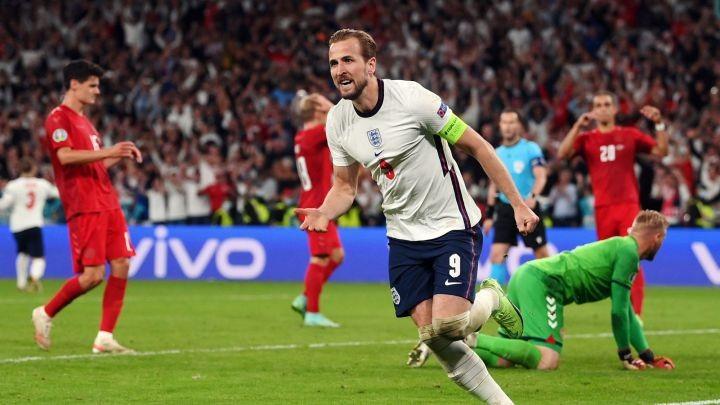 """""""อังกฤษ""""ต่อเวลาเฉือนเดนมาร์ก2-1ชิงยูโรครั้งแรก ยูโร 2020"""