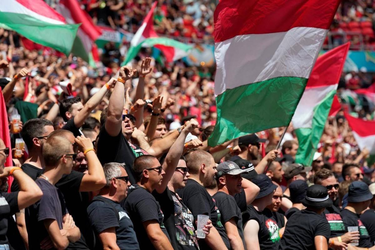 'ฮังการี' เตรียมโดนยูฟ่าลงดาบห้ามแฟนบอลเข้าสนาม 2 เกม หลังต้าน LGBTQ+ ยูโร 2020