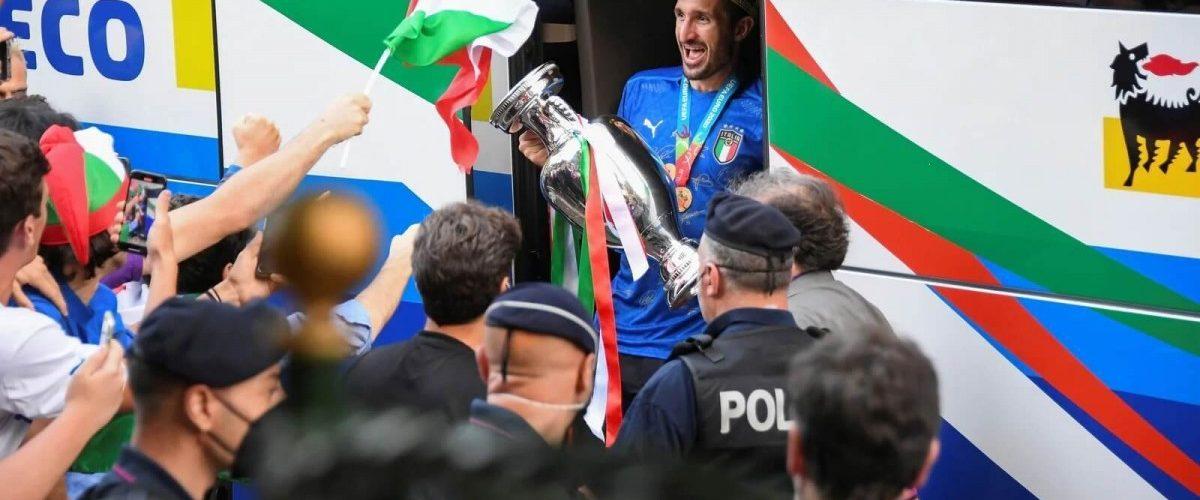 """""""บรูโน่"""" ชม """"คิเอลลินี่"""" สร้างปรากฎการณ์ให้อิตาลี ทีมชาติ"""