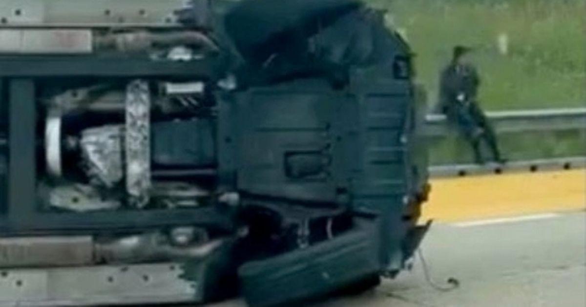 เมตแลนด์ ไนลส์ ประสบอุบัติเหตุรถคว่ำ แต่ไม่เป็นอะไรเลย พรีเมียร์ลีก อังกฤษ