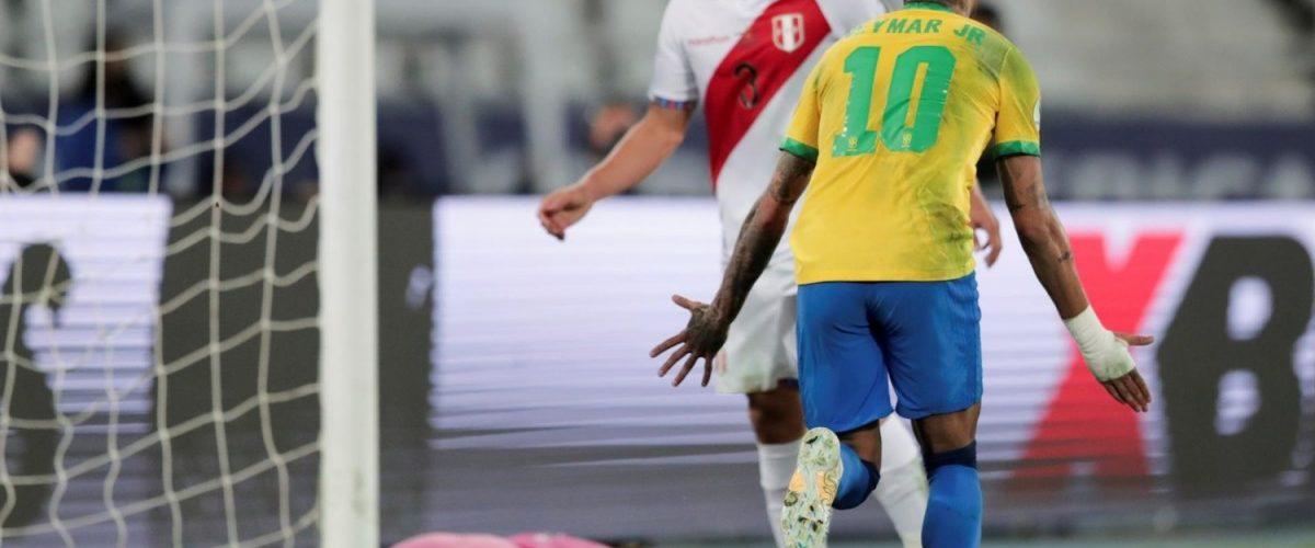 บราซิลลิ่วชิงโคปา หลังเชือดเปรู 1-0 ทีมชาติ