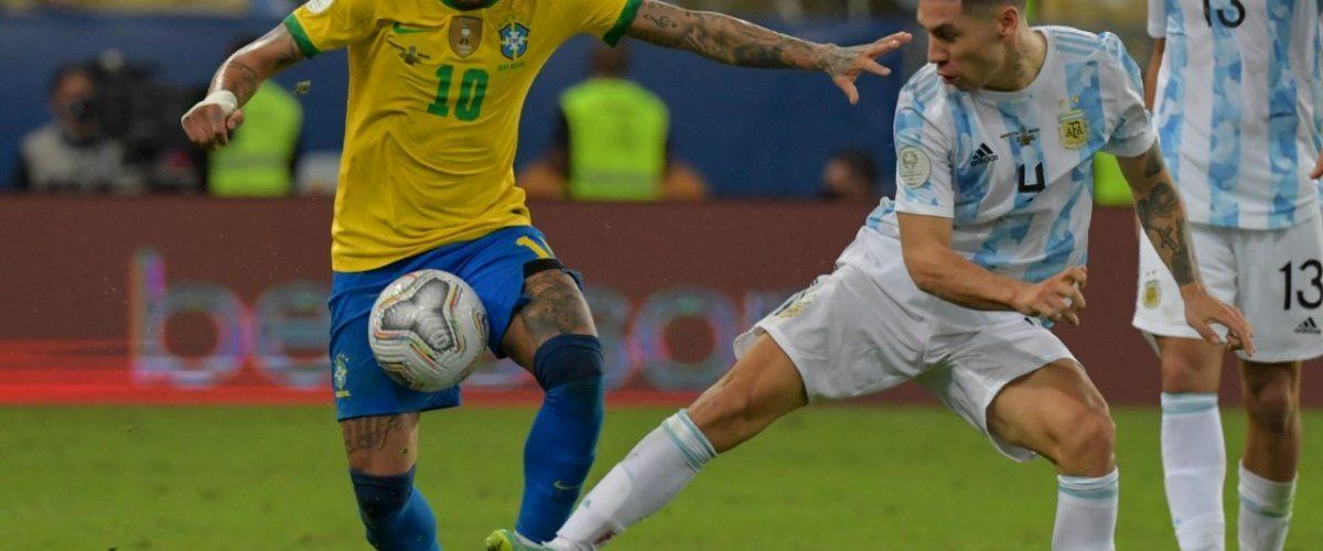 บราซิล พัง เจออาร์เจนเชือด 1-0 นัดชิงโคปา ทีมชาติ