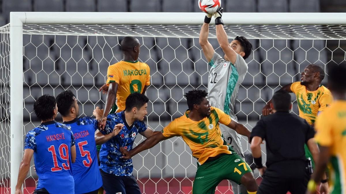 ซามูไรมีหืดก่อนเฉือนแอฟริกาใต้ 1-0 ประเดิมโอลิมปิก ทีมชาติ
