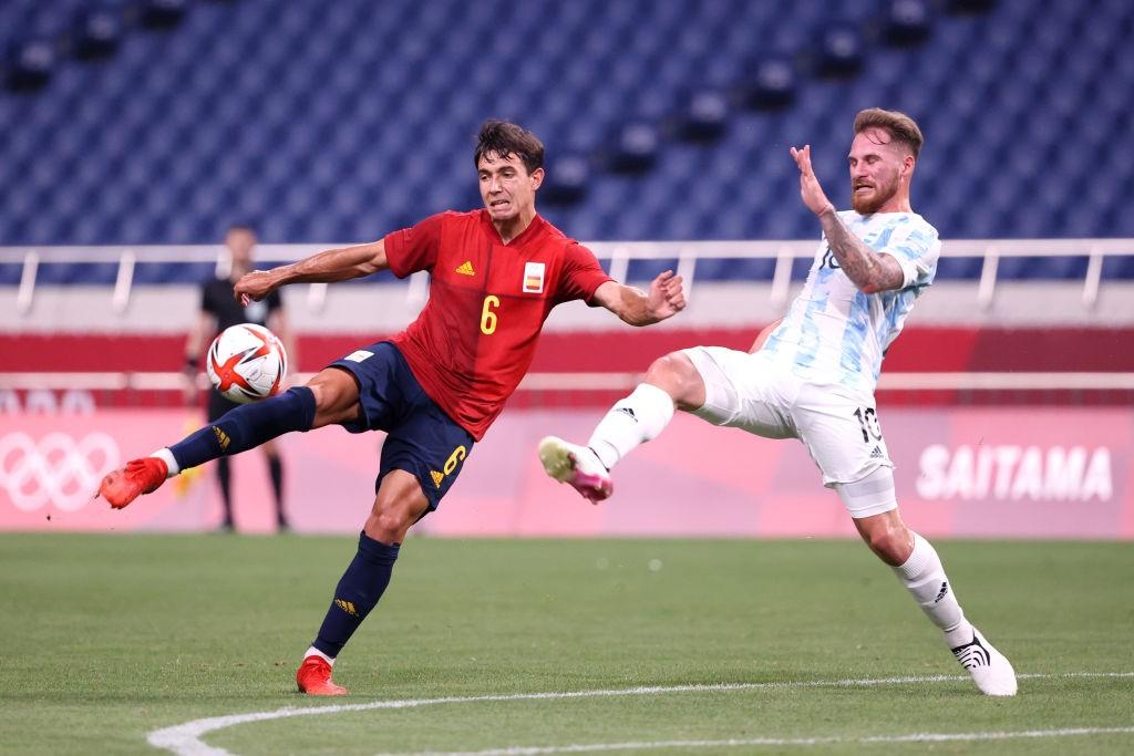 สเปน เข้ารอบหลังเจ๊าอาร์เจน 1-1 บอลโอลิมปิก ทีมชาติ