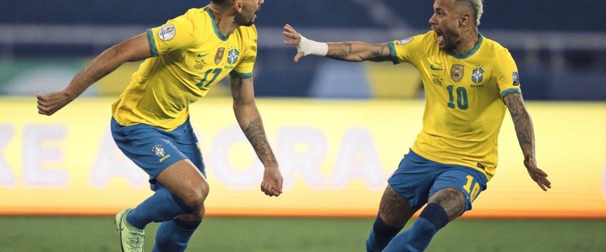 บราซิลเกือบตายก่อนเฉือนชิลี 1-0 ลิ่วตัดเปรู ทีมชาติ