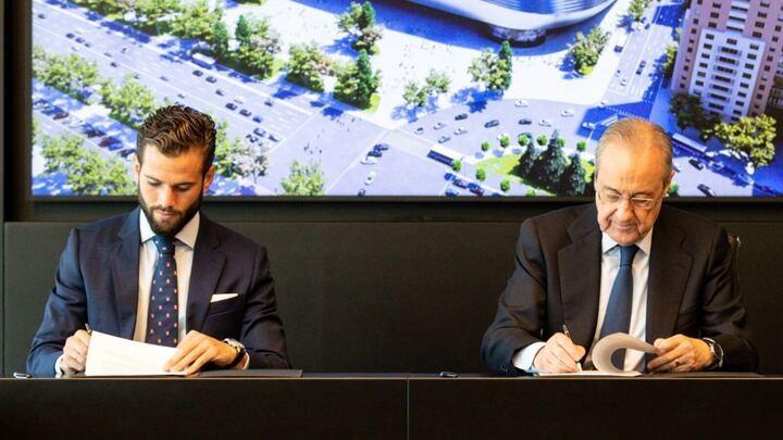 นาโช่ ยืดสัญญาชุดขาวถึงปี 2023 ลาลีกา สเปน