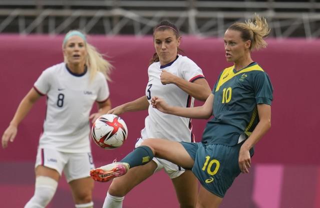 บอลหญิงUS ยังฝืดเจ๊า ออสซี โนสกอร์ กอดคอลิ่วรอบ 8 โอลิมปิก ทีมชาติ