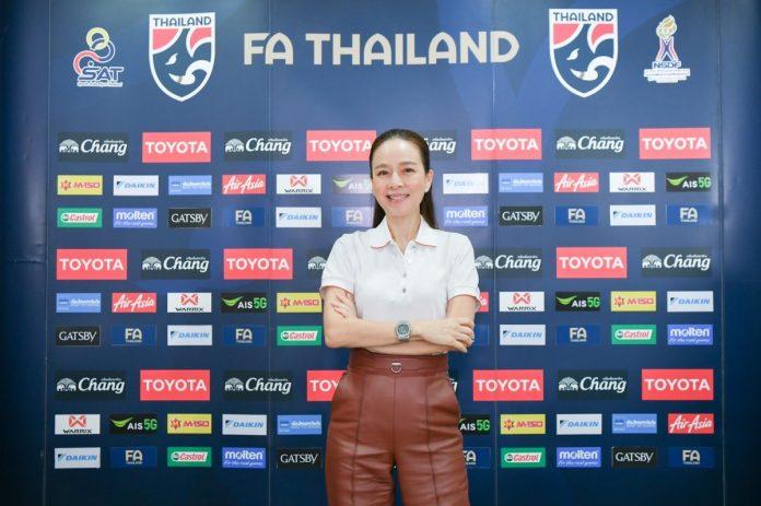 """""""มาดามแป้ง""""กับบทบาทใหม่ ผู้จัดการทีมชาติไทย ฟุตบอลในประเทศ"""