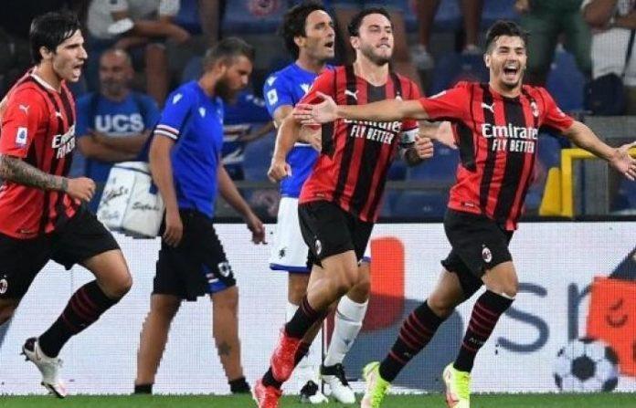 """""""มิลาน""""ประเดิมชัยบุกเฉือนซามพ์โดเรีย1-0 กัลโช เซเรีย อา อิตาลี"""