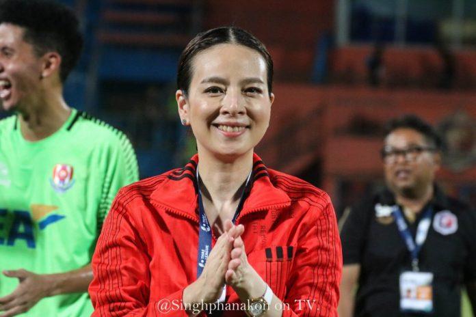 มาดามแป้ง เผยสุดท้าทายนำช้างศึกทวงแชมป์อาเซียน ฟุตบอลในประเทศ