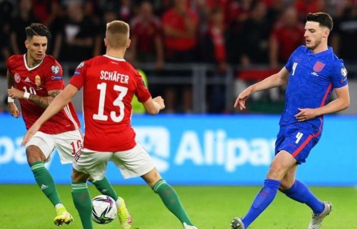 """""""อังกฤษ""""เฮลั่นคัดบอลโลกบุกขยี้ฮังการี4-0 ทีมชาติ"""