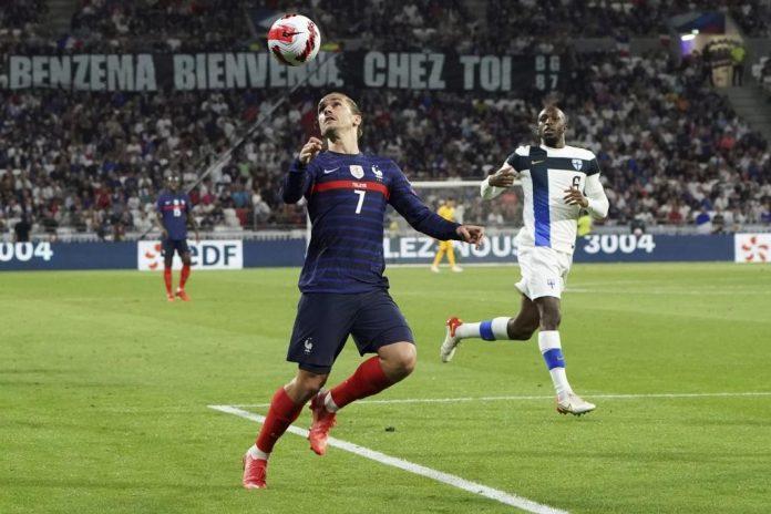 """""""กรีซมันน์""""ซัดเบิ้ลฝรั่งเศสทุบฟินแลนด์2-0 ทีมชาติ"""