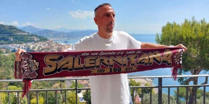 """""""ริเบรี่"""" ย้ายร่วมทีม ซาแลร์นิตาน่า หลังเป็นฟรีเอเย่นต์ กัลโช เซเรีย อา อิตาลี"""