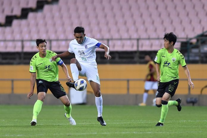 บีจี ดวลโทษพ่าย ชุนบุค 2-4 ตกรอบ 16 ทีมสุดท้าย ACL ฟุตบอลในประเทศ