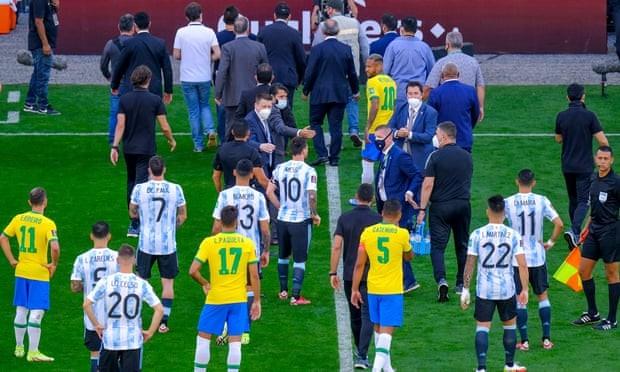 ตำรวจบราซิล เตรียมสอบ 4 แข้งอาร์เจนติน่า ทีมชาติ