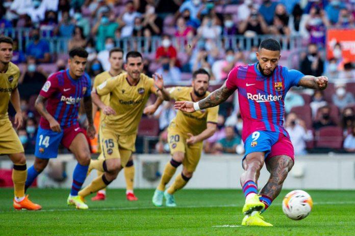 บาร์ซาตุนแต่หัววันก่อนบดเลบานเต้ 3-0 ลาลีกา สเปน