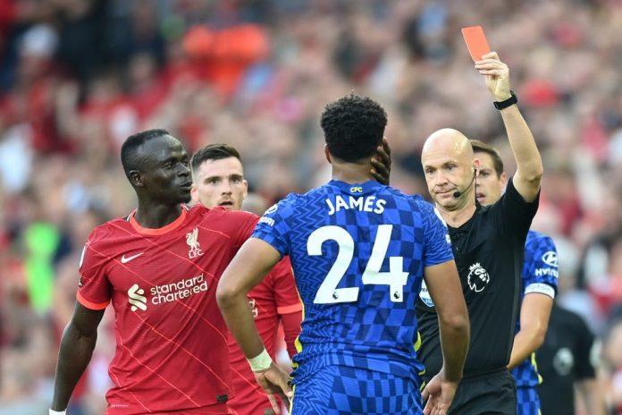 โดนลงโทษตามคาด! FA ปรับเงินเชลซี เหตุนักเตะประท้วงผู้ตัดสินเกมกับหงส์ พรีเมียร์ลีก อังกฤษ