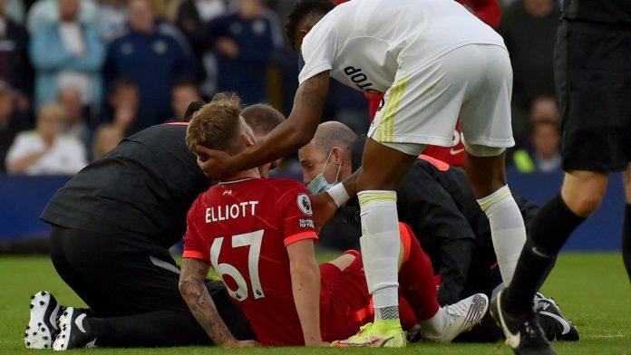 ข้อเท้าหลุด! 'คล็อปป์' พูดถึงการเจ็บของ 'เอลเลียต จากเกมถล่มลีดส์' พรีเมียร์ลีก อังกฤษ