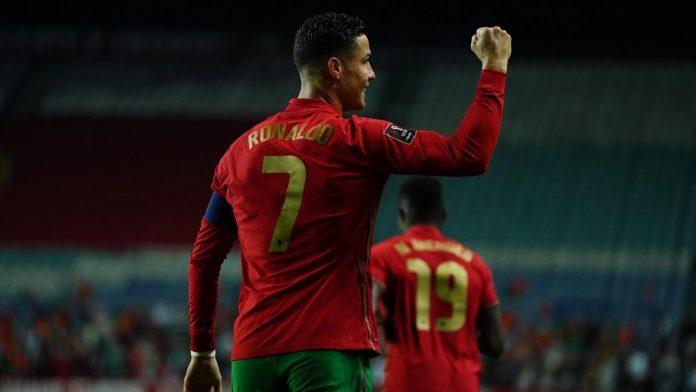 โรนัลโด้ เพิ่มสถิติยิงประตูในนามทีมชาติเป็น 115 ประตู ทีมชาติ