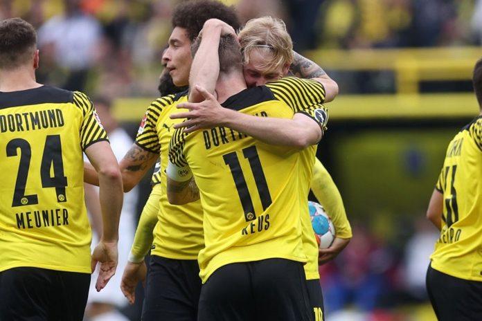 ดอร์ทมุนด์ ได้บรันท์ ซัดชัยชนะ เอาส์บวร์ก 2-1 บุนเดสลีกา เยอรมัน