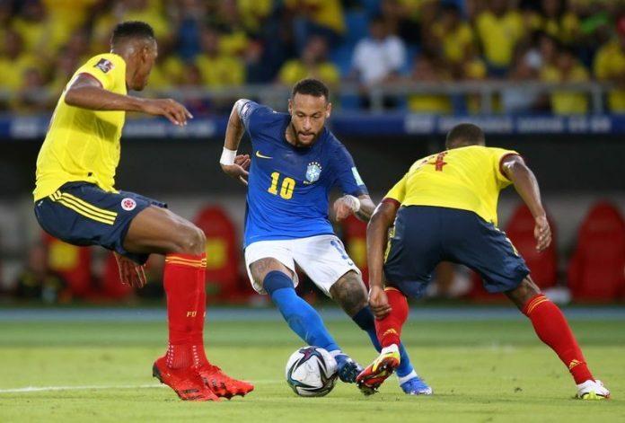 บราซิล ฝืดได้แค่เสมอโคลอมเบีย 0-0 ทีมชาติ